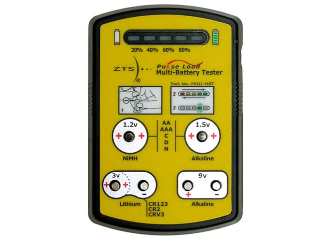 Pulse Load Battery Tester